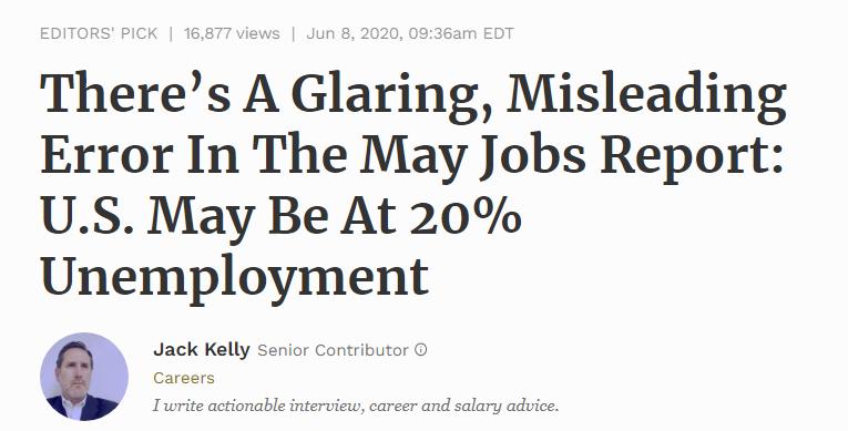 Misleading error in jobs report.