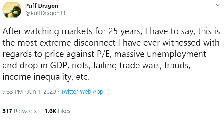 Puff dragon tweet.