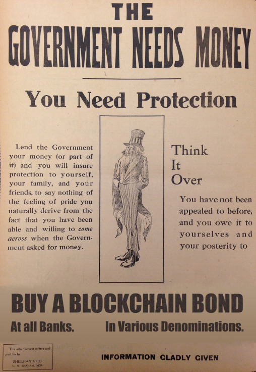 The government needs money