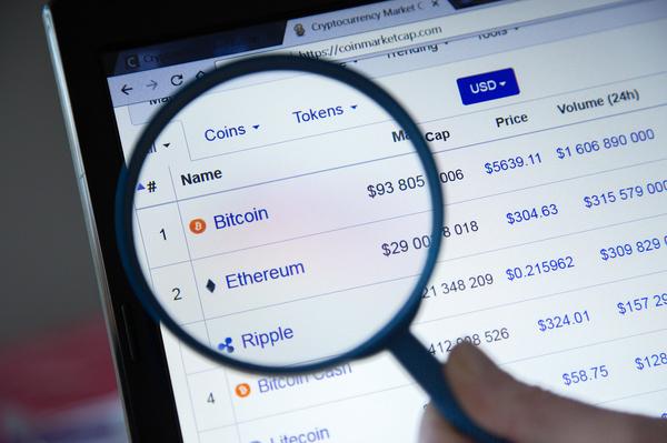Coinmarketcap screenshot.