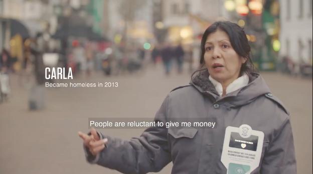 Carla became homeless in 2013