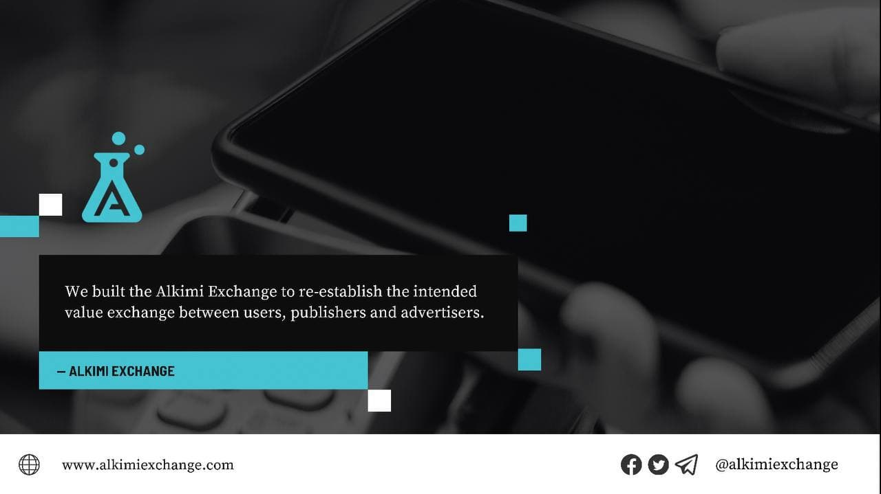 Alkimi Exchange will Disrupt the $340bn Digital Advertising Industry, Creating a Cheaper and More Efficient Advertising Ecosystem