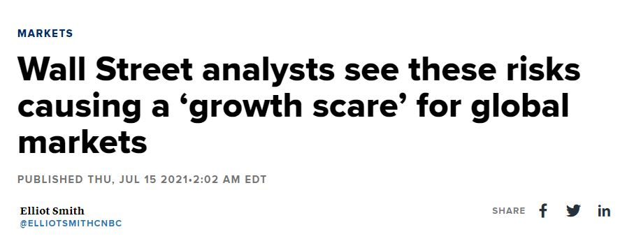 Wall street analysts article