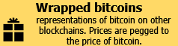 Wrapped bitcoins