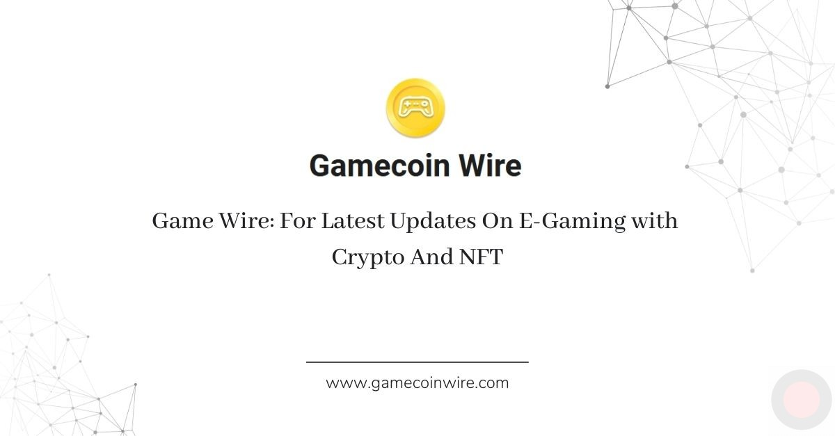 For Latest Updates On E-Gaming With Crypto And NFT